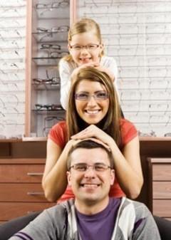 famiglia, famiglia occhiali, famiglia ottica